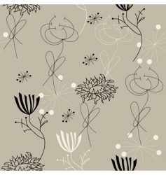 decorative seamless pattern vector image vector image
