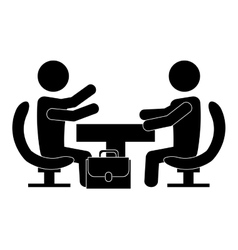 Team work business people icon image vector