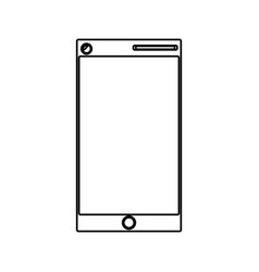 Isolated money cellphone vector