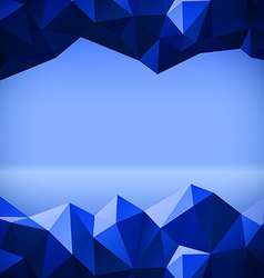Abstract polygonal lines vector