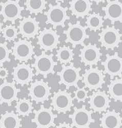 Cog wheel seamless pattern vector