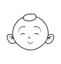 Boy cartoon icon baby concept graphic vector