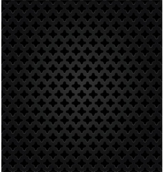 Abstract metal dark background vector image vector image