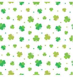 St patricks day seamless pattern background vector