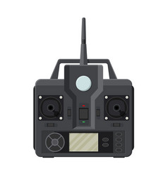 Remote controll for car drone fly and toy vector