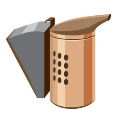 Beekeeping smoker icon cartoon style vector