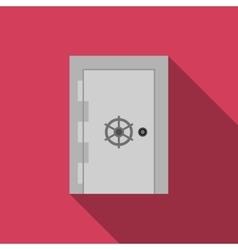 Safe door vector