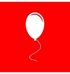 Balloon sign vector