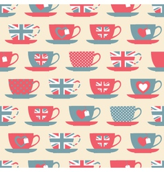 british teatime vector image vector image