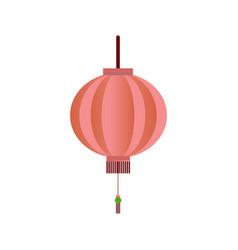 chinese lantern symbol vector image