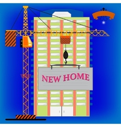 New home vector