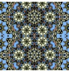 Ornamental ornate tribal style seamless wallpaper vector image vector image