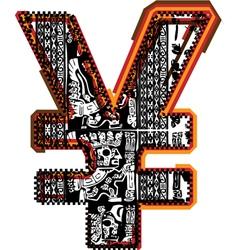 Incas font vector