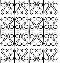 Seamless pattern in the form of forged lattice vector