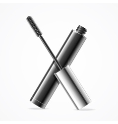 Black mascara vector
