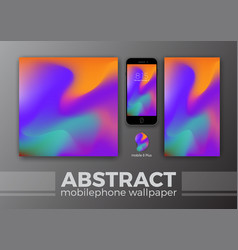 abstract background design for mobile wallpaper vector image vector image