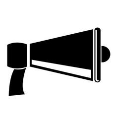Megaphone speaker advertising marketing icon vector