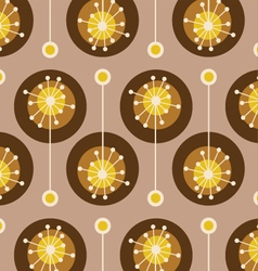 Vintage colorful floral and decorative pattern vector