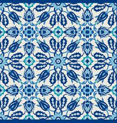 Arabesque damask vintage decor ornate seamless vector