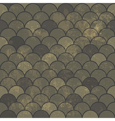 Aged scale seamless pattern vector