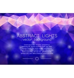 Blue abstract geometrical background vector