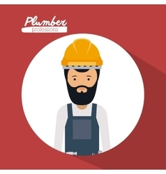 construction professional design vector image