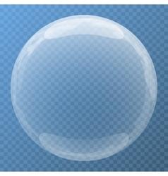 Nice bubble with glare icon vector