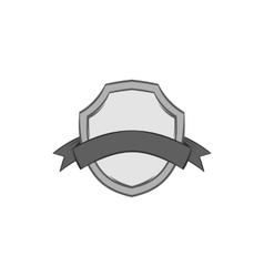 Premium quality label icon black monochrome style vector image vector image