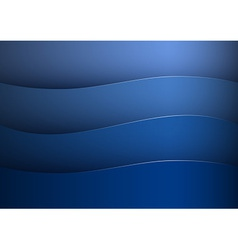 Background blue stripe wave vector