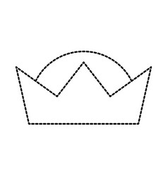 Crown wise king ornate jewelry image vector