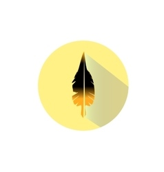 Gold flat icon vector