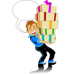 great gift vector image