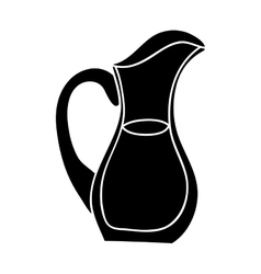 Filled jug icon image vector