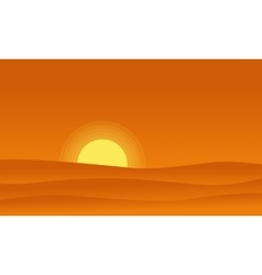 At morning hill scenery backgrounds vector