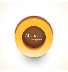 Abstract trendy background button for your vector image