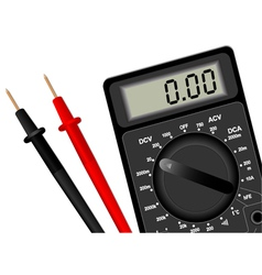 Digital multimeter 2 vector image vector image