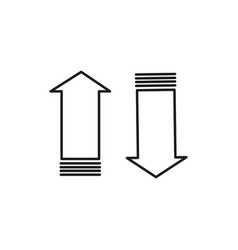 internet traffic icon vector image