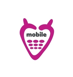 Logo phone vector