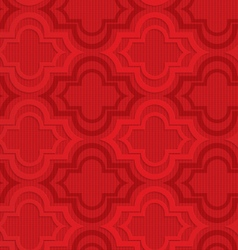 Red Marrakesh on checkered background vector image vector image
