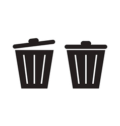 Trashcan vector