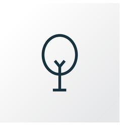 tree icon line symbol premium quality isolated vector image vector image