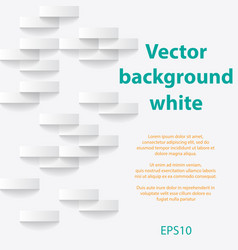 White abstract paper background vector
