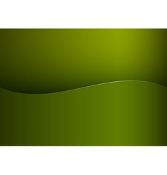 background green stripe wave one vector image