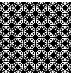 Design seamless monochrome geometric background vector image