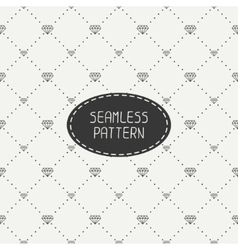 Monochrome hipster fashion geometric seamless vector