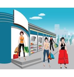 big shop vector image