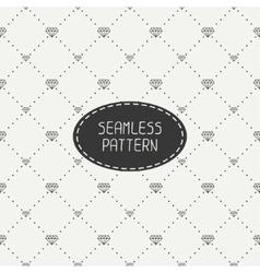 Monochrome hipster fashion geometric seamless vector