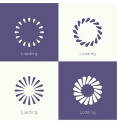 Set of downloaders vector