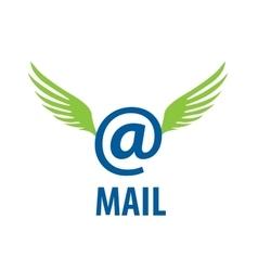Logo mail vector