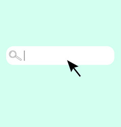 search bar vector image
